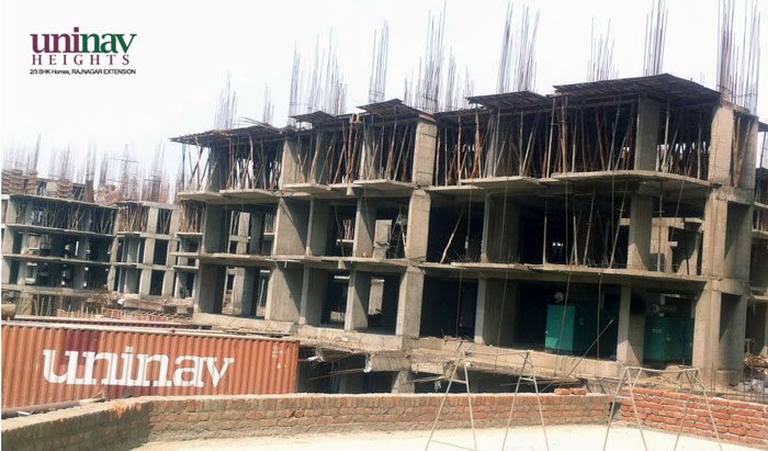 Uninav Heights Phase 2 Construction Work